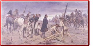 Travesía del ejercito libertador por el páramo de Pisba – Bolívar en el páramo de Pisba